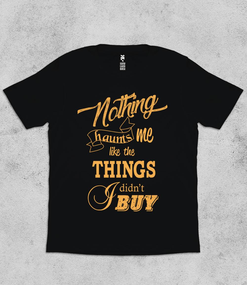 Shopoholic Woes- Mens T-shirt