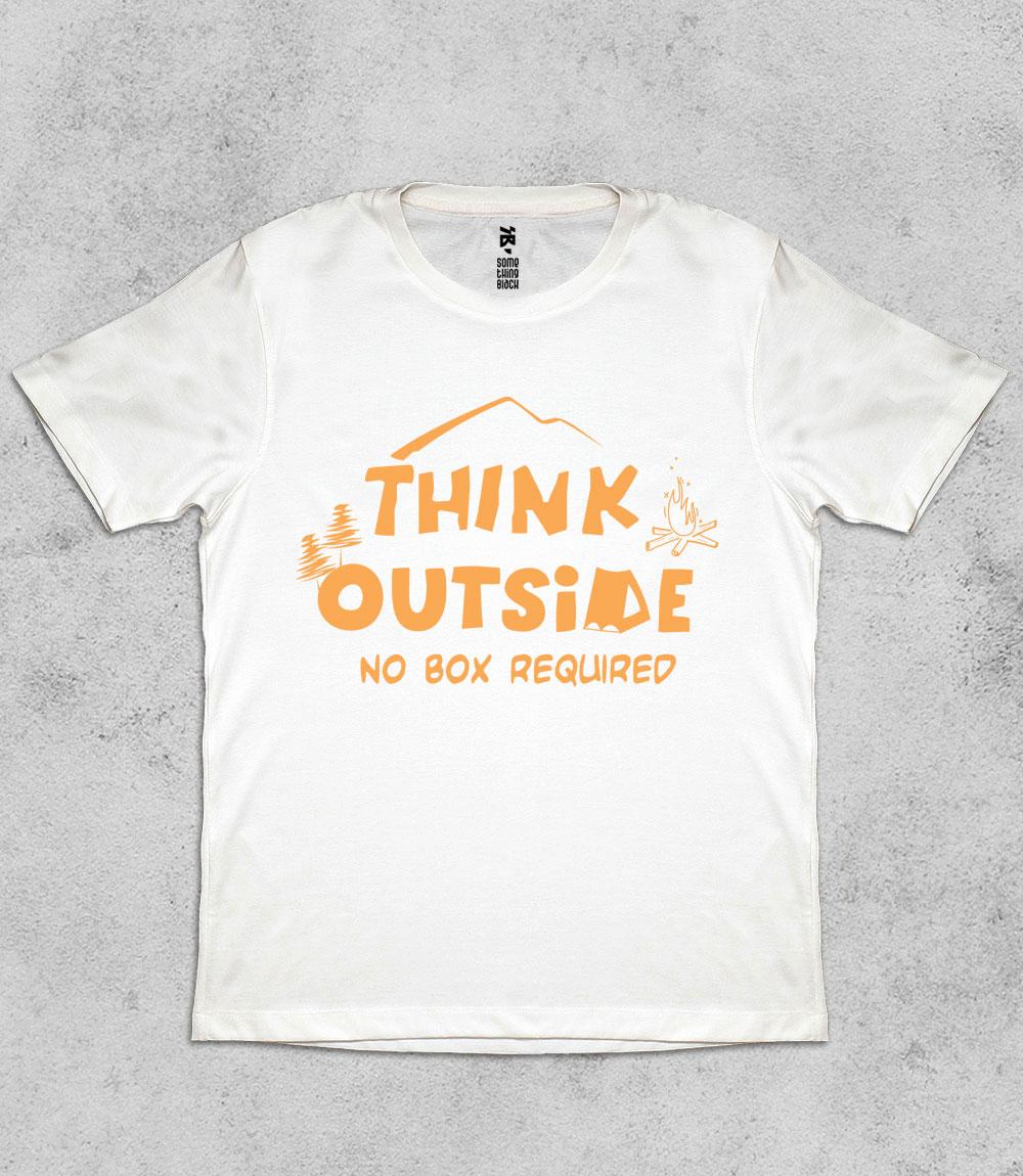 Think Outside- Mens T-shirt