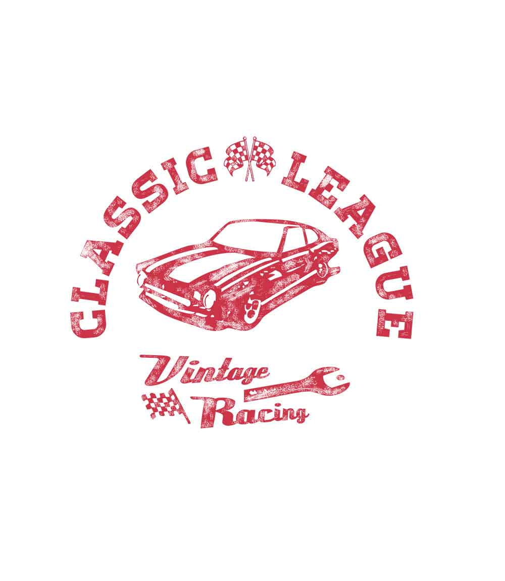 Vintage Racing- Mens T-shirt