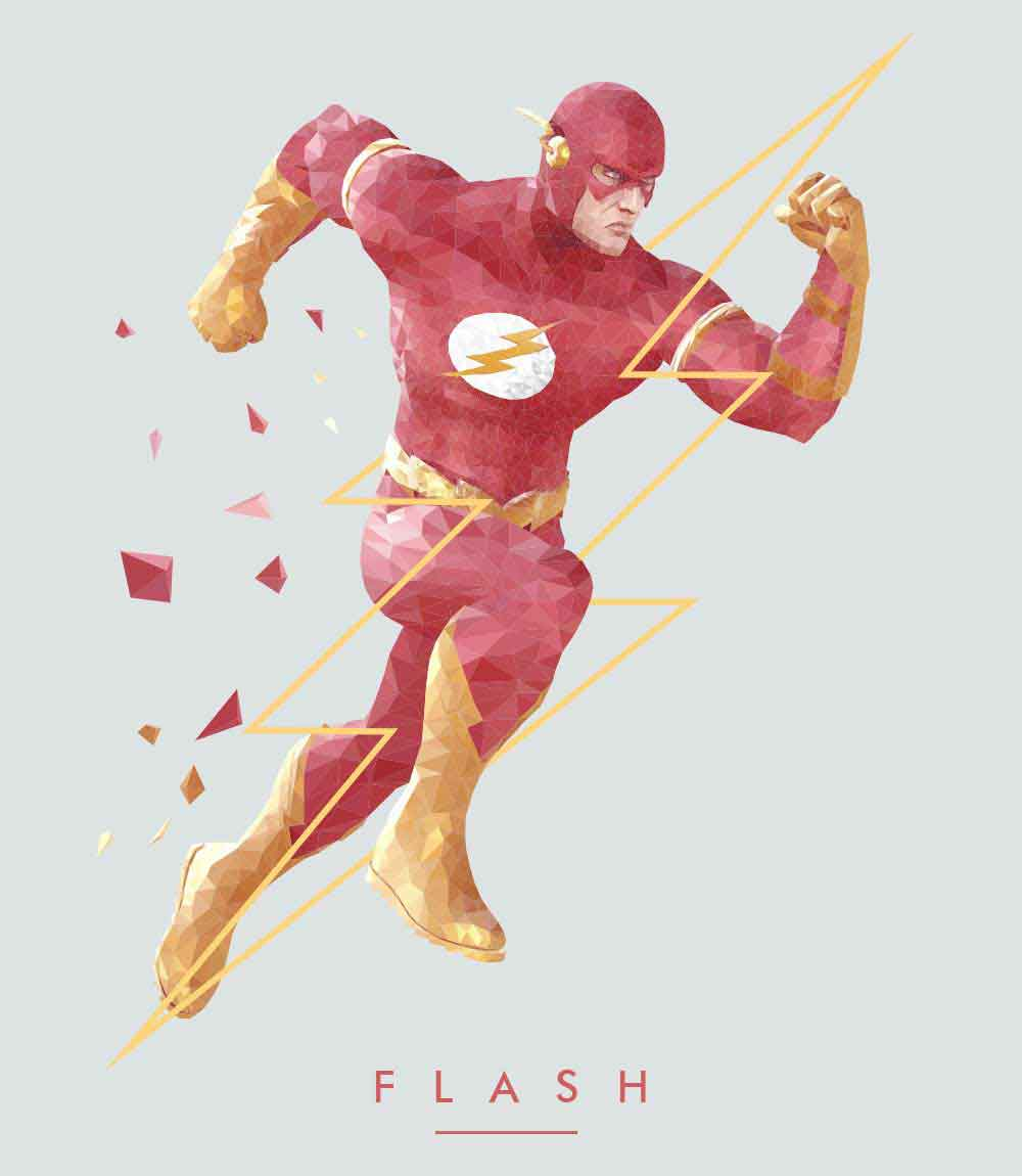 Flash- Mens T-shirt