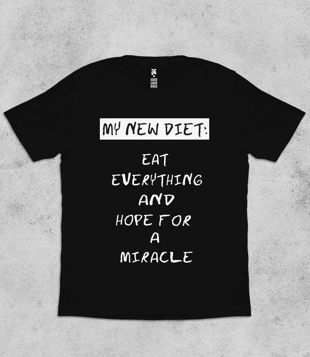 My new diet- Mens T-shirt