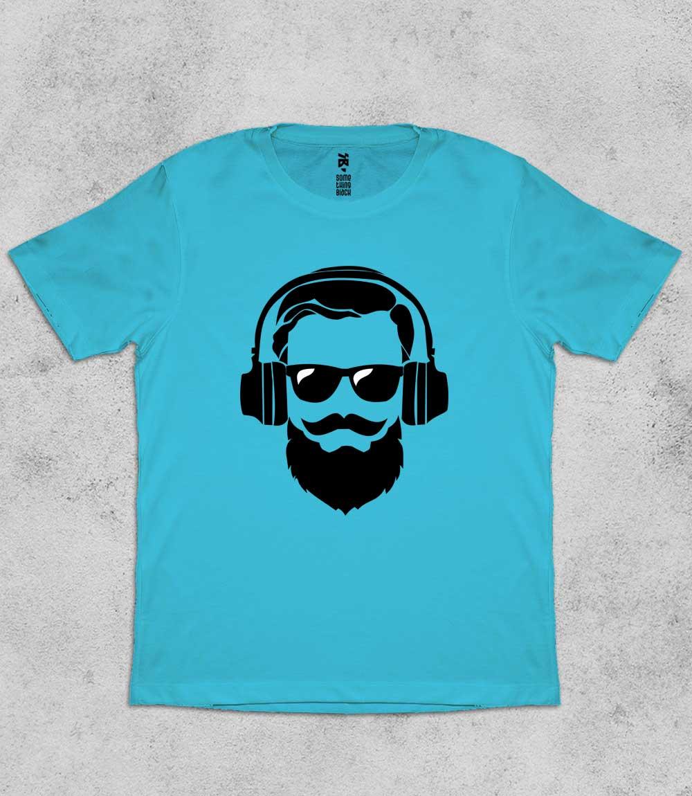 Beard & Music- Mens T-shirt
