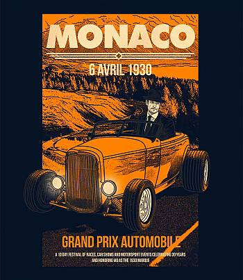 Monaco Grand Prix - Mens T-shirt