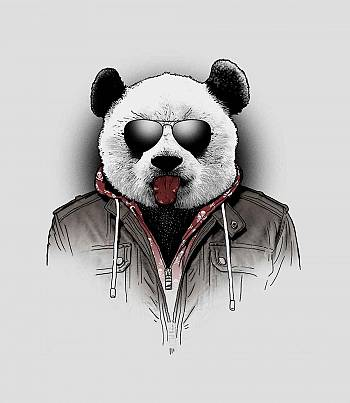 CoolPanda - Mens T-shirt