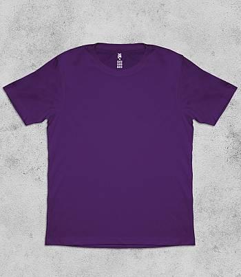 Purple Crew Neck - Mens T-shirt