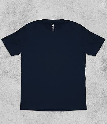 Navy Blue Crew Neck - Mens T-shirt