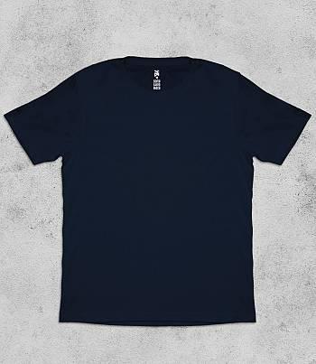 Navy Blue Crew Neck - Mens T-shirt