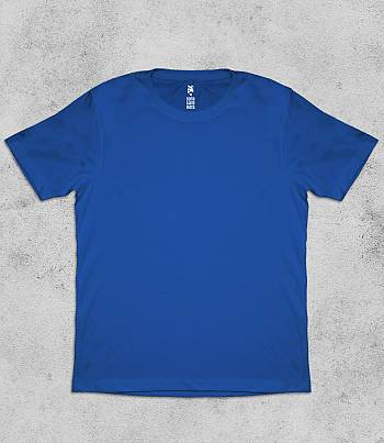Royal Blue Crew Neck - Mens T-shirt