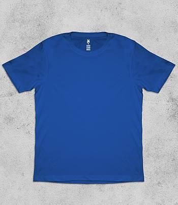 Royal Blue Crew Neck - Mens T-shirt