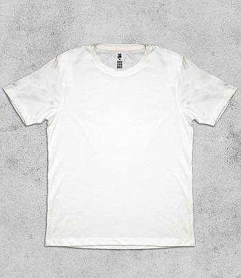 White Crew Neck - Mens T-shirt