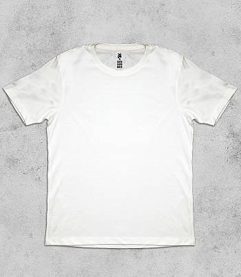 White Crew Neck - Mens T-shirt