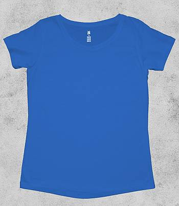Royal Blue Crew Neck - Womens T-shirt
