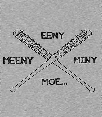 Eeny Meeny Miny Moe- Mens T-shirt