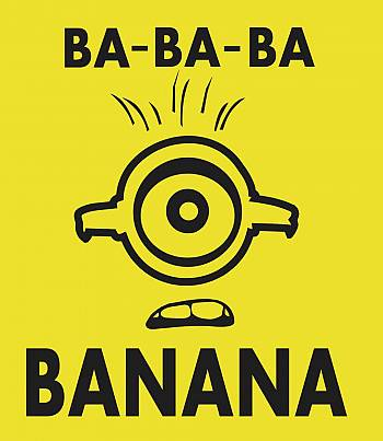 Banana- Womens T-shirt