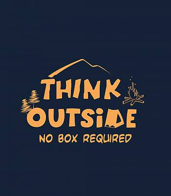 Think Outside- Womens T-shirt
