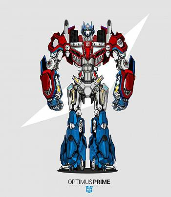 Optimus Prime- Mens T-shirt