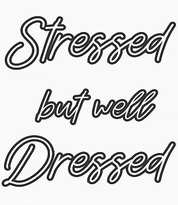 Stressed- Mens T-shirt