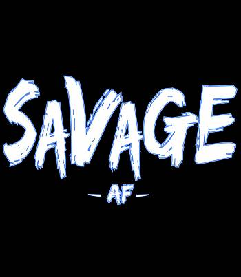 Savage AF- Mens T-shirt